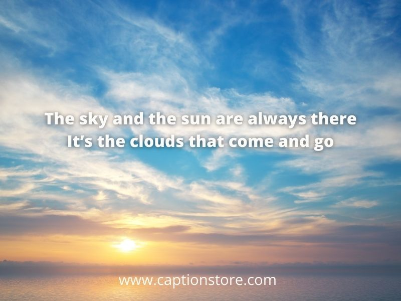 Quotes onskyand clouds