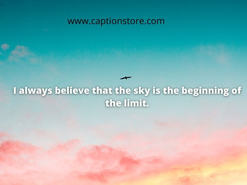 Sky quotes in english